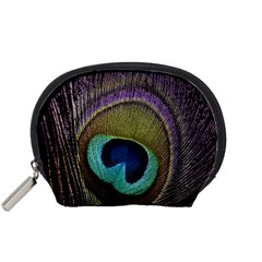 Peacock Feather Accessory Pouches (small)  by BangZart