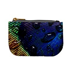 Peacock Feather Retina Mac Mini Coin Purses by BangZart