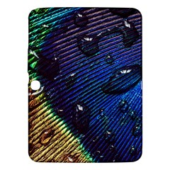 Peacock Feather Retina Mac Samsung Galaxy Tab 3 (10 1 ) P5200 Hardshell Case  by BangZart