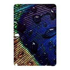 Peacock Feather Retina Mac Samsung Galaxy Tab Pro 10 1 Hardshell Case by BangZart