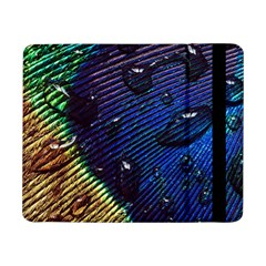 Peacock Feather Retina Mac Samsung Galaxy Tab Pro 8 4  Flip Case by BangZart