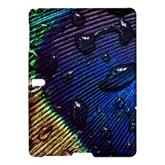 Peacock Feather Retina Mac Samsung Galaxy Tab S (10 5 ) Hardshell Case  by BangZart