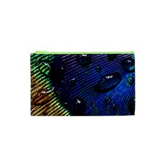 Peacock Feather Retina Mac Cosmetic Bag (xs) by BangZart