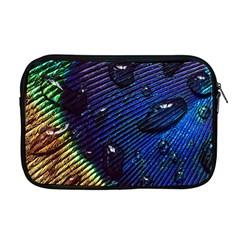 Peacock Feather Retina Mac Apple Macbook Pro 17  Zipper Case by BangZart