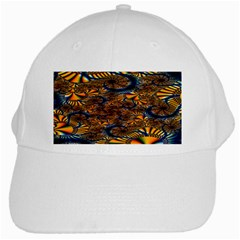 Pattern Bright White Cap