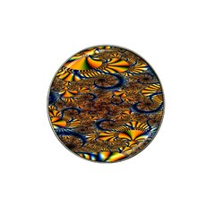Pattern Bright Hat Clip Ball Marker by BangZart