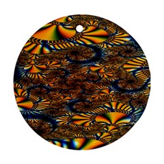 Pattern Bright Round Ornament (two Sides) by BangZart