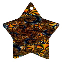 Pattern Bright Star Ornament (two Sides) by BangZart