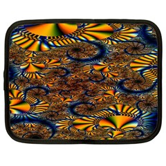 Pattern Bright Netbook Case (large)