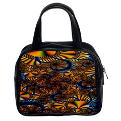 Pattern Bright Classic Handbags (2 Sides) by BangZart