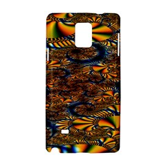 Pattern Bright Samsung Galaxy Note 4 Hardshell Case by BangZart