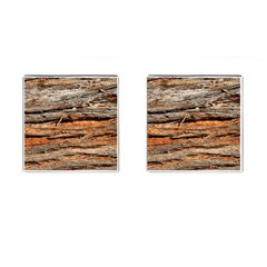 Natural Wood Texture Cufflinks (square) by BangZart