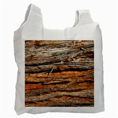 Natural Wood Texture Recycle Bag (one Side)
