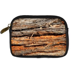 Natural Wood Texture Digital Camera Cases by BangZart