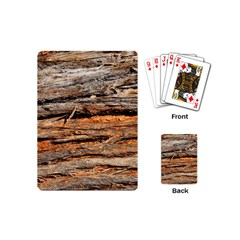 Natural Wood Texture Playing Cards (mini)  by BangZart