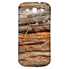 Natural Wood Texture Samsung Galaxy S3 S Iii Classic Hardshell Back Case