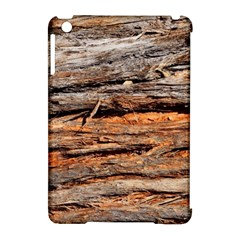 Natural Wood Texture Apple Ipad Mini Hardshell Case (compatible With Smart Cover)
