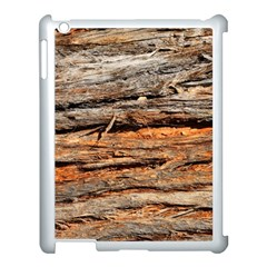 Natural Wood Texture Apple Ipad 3/4 Case (white) by BangZart