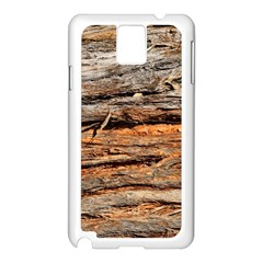Natural Wood Texture Samsung Galaxy Note 3 N9005 Case (white) by BangZart