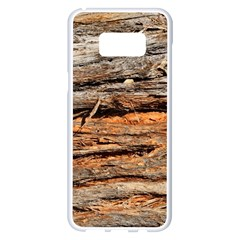Natural Wood Texture Samsung Galaxy S8 Plus White Seamless Case by BangZart