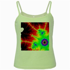 Misc Fractals Green Spaghetti Tank by BangZart