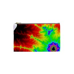 Misc Fractals Cosmetic Bag (small)  by BangZart