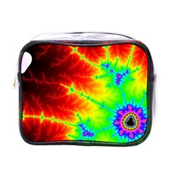 Misc Fractals Mini Toiletries Bags by BangZart