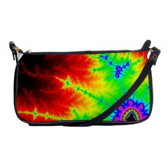 Misc Fractals Shoulder Clutch Bags by BangZart