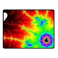 Misc Fractals Double Sided Fleece Blanket (small)  by BangZart