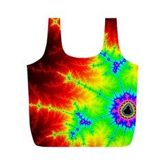Misc Fractals Full Print Recycle Bags (m)  by BangZart