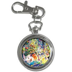 Multicolor Anime Colors Colorful Key Chain Watches