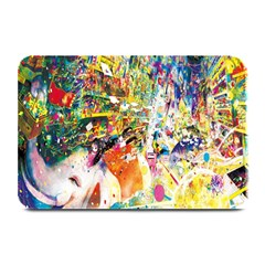 Multicolor Anime Colors Colorful Plate Mats by BangZart