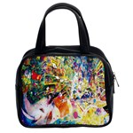 Multicolor Anime Colors Colorful Classic Handbags (2 Sides) Front