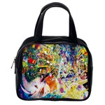 Multicolor Anime Colors Colorful Classic Handbags (2 Sides) Back