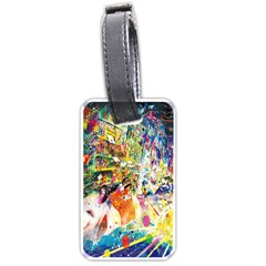 Multicolor Anime Colors Colorful Luggage Tags (one Side)  by BangZart