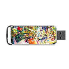 Multicolor Anime Colors Colorful Portable Usb Flash (two Sides) by BangZart