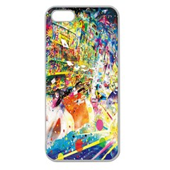 Multicolor Anime Colors Colorful Apple Seamless Iphone 5 Case (clear) by BangZart