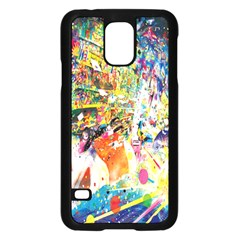 Multicolor Anime Colors Colorful Samsung Galaxy S5 Case (black) by BangZart