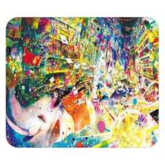 Multicolor Anime Colors Colorful Double Sided Flano Blanket (small)