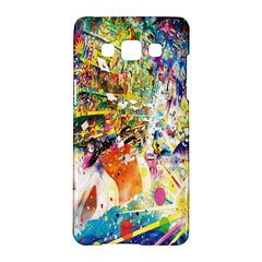 Multicolor Anime Colors Colorful Samsung Galaxy A5 Hardshell Case  by BangZart