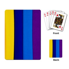 Paper Rainbow Colorful Colors Playing Card