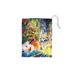 Multicolor Anime Colors Colorful Drawstring Pouches (xs)