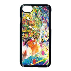 Multicolor Anime Colors Colorful Apple Iphone 7 Seamless Case (black) by BangZart