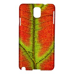 Nature Leaves Samsung Galaxy Note 3 N9005 Hardshell Case by BangZart