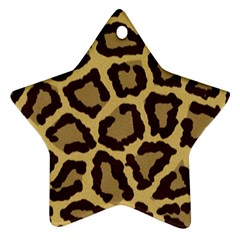 Leopard Ornament (star) by BangZart