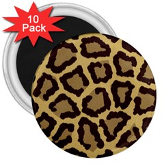 Leopard 3  Magnets (10 Pack)  by BangZart