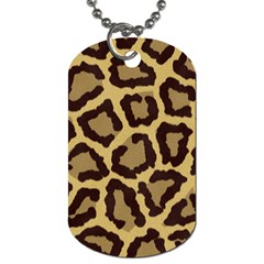 Leopard Dog Tag (one Side)
