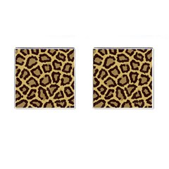 Leopard Cufflinks (square) by BangZart