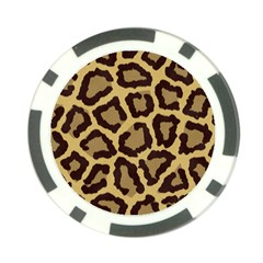Leopard Poker Chip Card Guard by BangZart