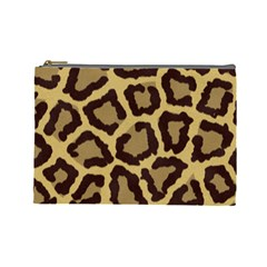 Leopard Cosmetic Bag (large)  by BangZart